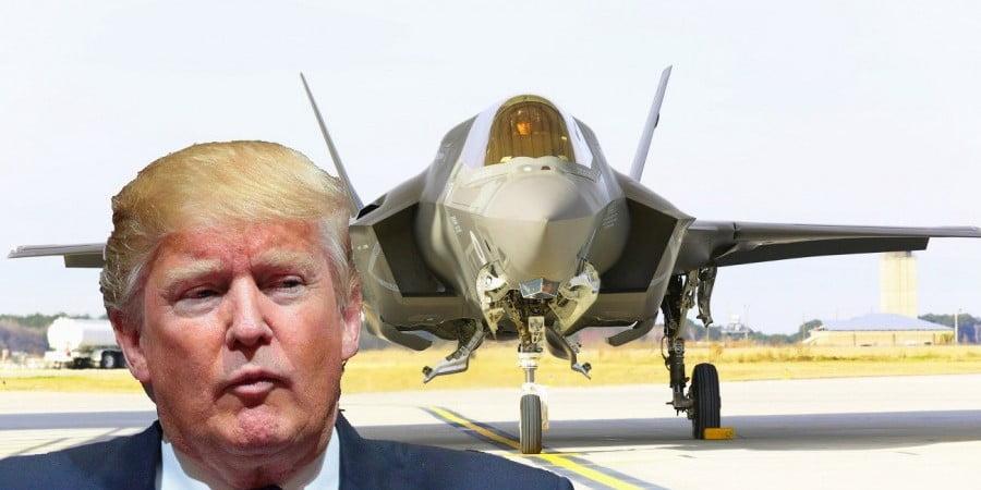 Τράμπ: Χώρες όπως οι ΗΠΑ δεν πρέπει να εξαρτώνται από Τουρκία για F35