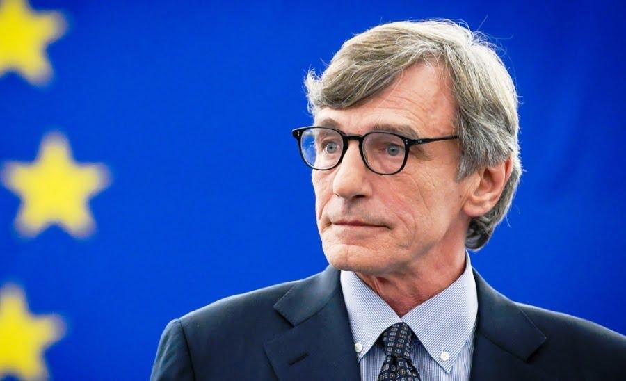 Μήνυμα Προέδρου Ευρωβουλής Ντ. Σασόλι προς τους θεσμούς της ΕΕ: «Δείξτε θάρρος για το σχέδιο ανάκαμψης της ΕΕ»