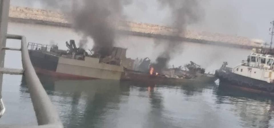Βίντεο-ντοκουμέντο από την στιγμή που πύραυλος φρεγάτας χτυπάει… κατά λάθος και καταστρέφει ιρανικό πλοίο (video)