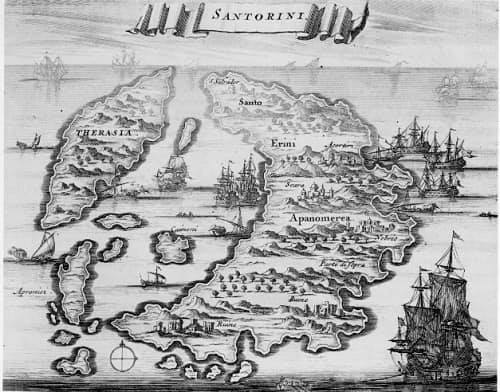 Το 1821 επαναστάτησε και η Σαντορίνη