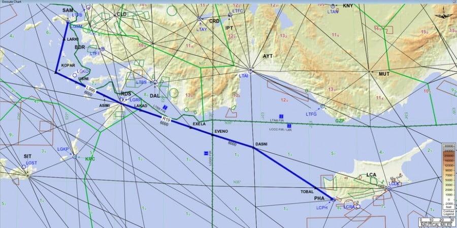 Κύπρος: Πρώτη φορά οι τουρκικές αρχές μπλόκαραν ξένη αεροπορική εταιρεία