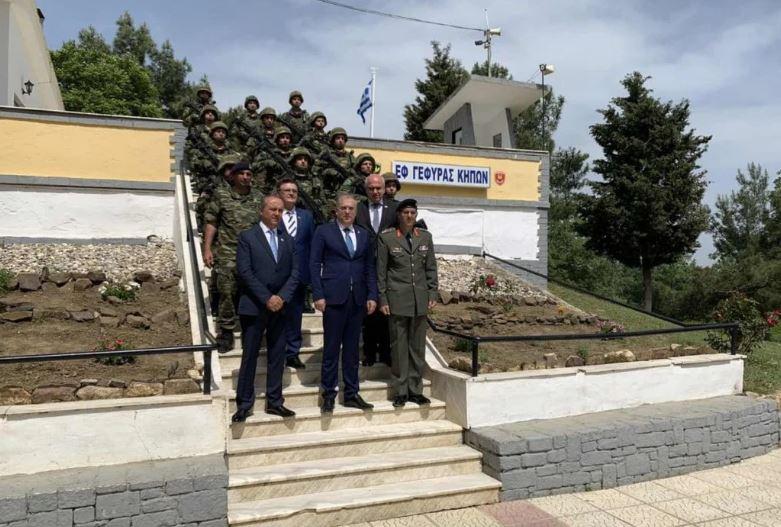 Θεοδωρικάκος στους φρουρούς του Έβρου: «Μας κάνετε να νιώθουμε πιο ασφαλείς, από εδώ ξεκινάει η Ελλάδα και η Ευρώπη»