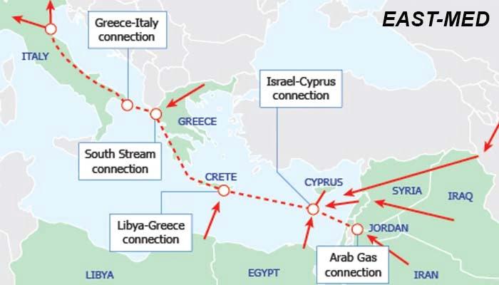 Βουλή: Κυρώθηκε από την Επιτροπή Εμπορίου ο αγωγός East Med