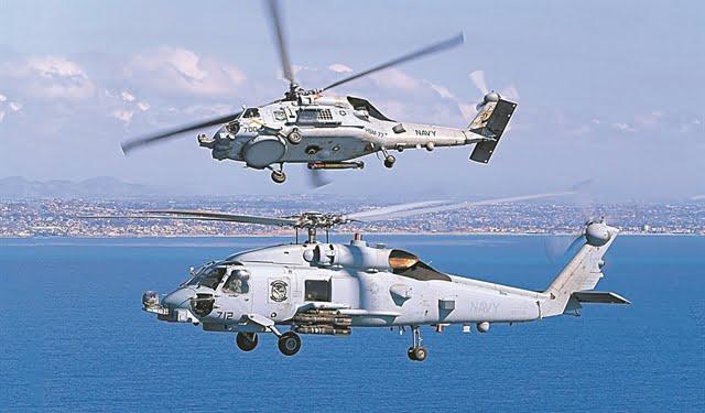 ΠΝ: Υλοποιείται η απόκτηση των MH-60R, του εκσυγχρονισμού των Aegeanhawk και του FOS