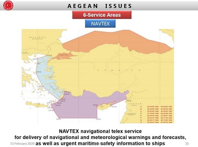 Έρχεται η ώρα των μεγάλων αποφάσεων για την Ελλάδα – Η Τουρκία απαιτεί με NAVTEX αρμοδιότητες σε μισό Αιγαίου-Καστελόριζο