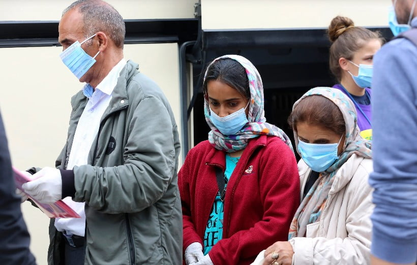 Άλλα δύο θετικά κρούσματα κορωνοϊού σε μετανάστες στη Λέσβο