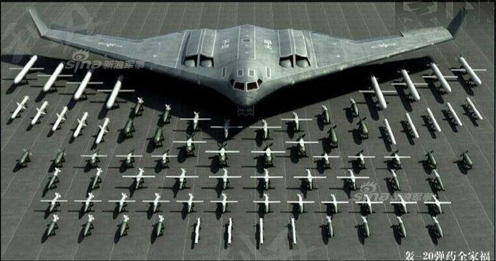 Το νέο θηριώδες stealth βομβαρδιστικό της Κίνας ενδέχεται να παρουσιαστεί έως το τέλος του έτους