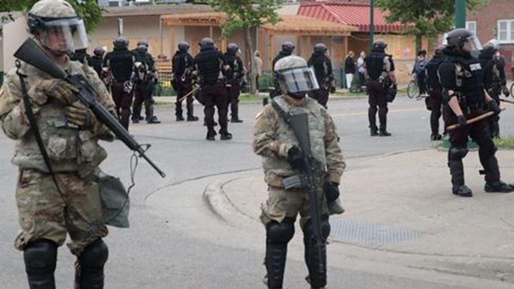 ΗΠΑ: 500 στρατιώτες της Εθνοφρουράς στη Μινεάπολη για την αποκατάσταση της τάξης