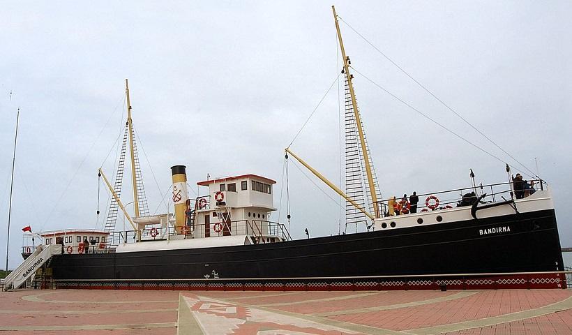 Το πλοίο «Κύμη» που έγινε «Bandirma» και μετέφερε τον Μουσταφά Κεμάλ στη Σαμψούντα