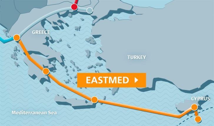€69 εκατ. για τις τελικές μελέτες του Eastmed