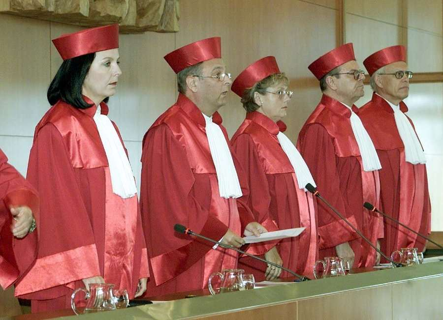Η Ντοβίλ του γερμανικού Συνταγματικού Δικαστηρίου