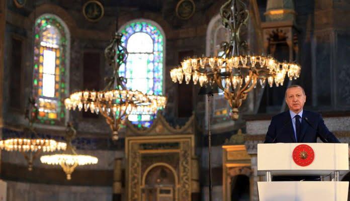 Πάλι λάθος κάναμε με τον Ερντογάν και την Αγιά Σοφιά – Δεν είχε στόχο την Ελλάδα και τον Ελληνισμό…
