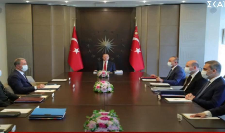 Έκτακτη σύσκεψη Ερντογάν για Λιβύη και Συρία – Επίθεση τουρκικού ΥΠΕΞ εναντίον Ελλάδας