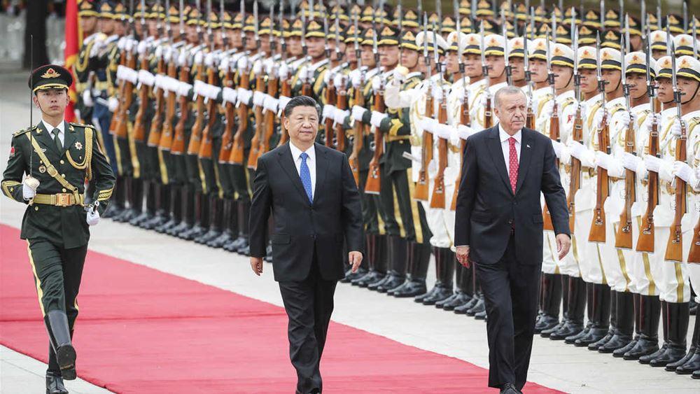 Ο Ερντογάν ξεπουλάει και η Κίνα βρίσκει ευκαιρία να αγοράσει υποδομές στην Τουρκία