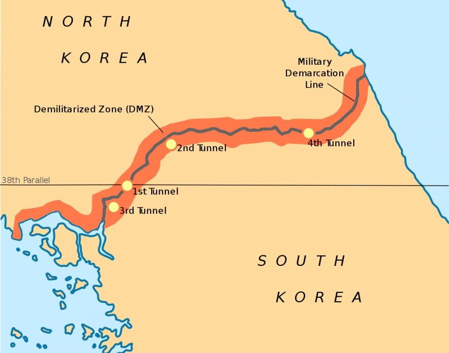 ΟΗΕ: Παραβίαση της εκεχειρίας από τις δυνάμεις Βόρειας και Νότιας Κορέας στην Αποστρατιωτικοποιημένη Ζώνη