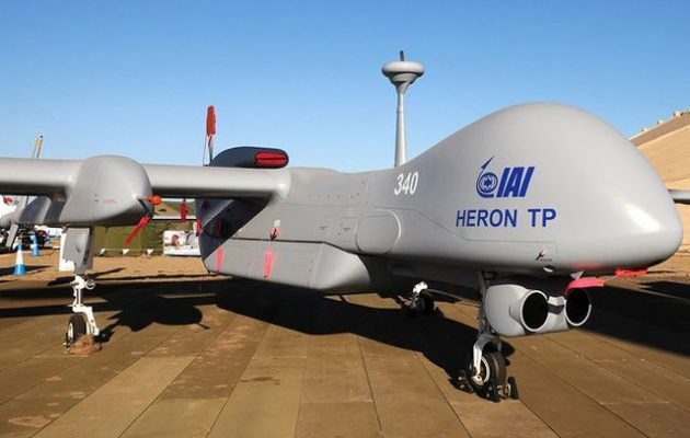 Bloomberg: Η Ελλάδα εκμισθώνει τα drones Heron από το Ισραήλ