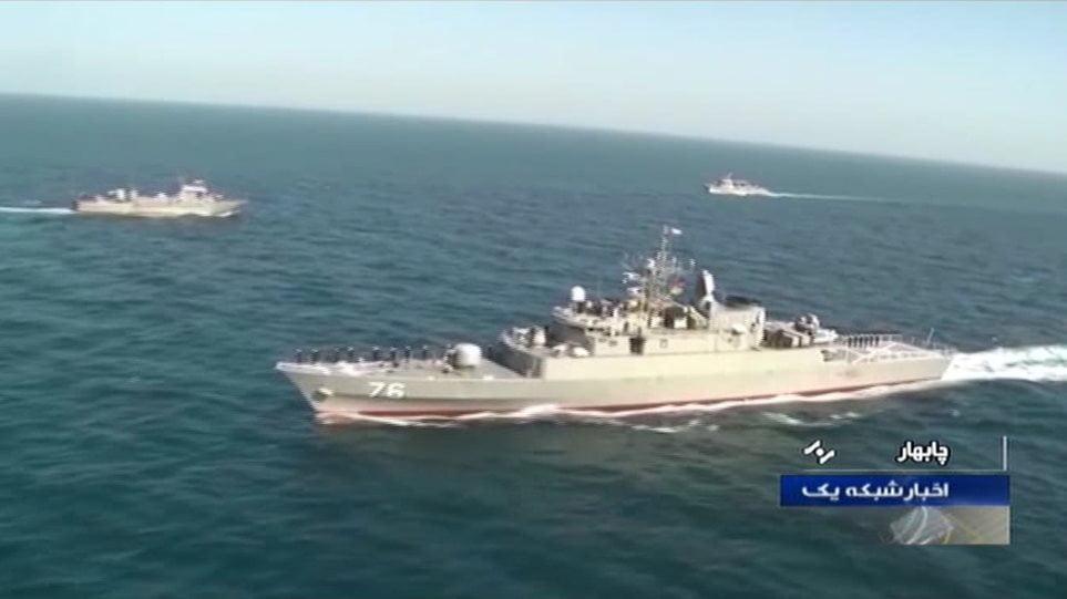 Τραγωδία στο Ιράν: Φρεγάτα βύθισε πλοίο στη διάρκεια άσκησης – Φόβοι για δεκάδες νεκρούς
