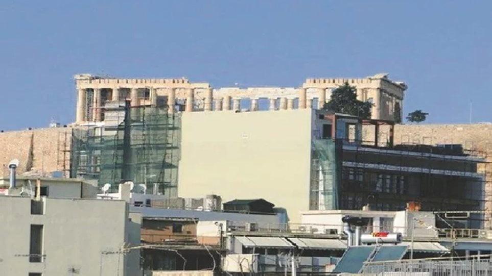 Σωστή ενέργεια – «Κονταίνουν» τα κτίρια στην περιοχή της Ακρόπολης