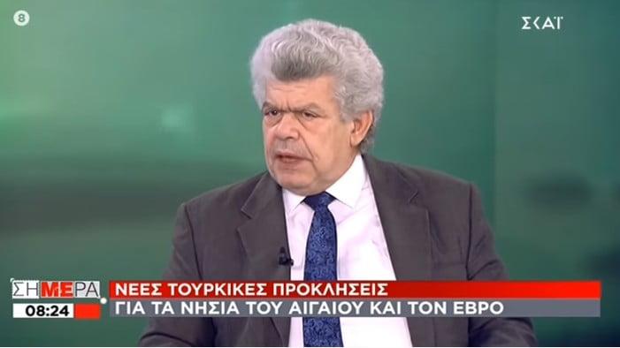 Μάζης: «Να είμαστε προσεκτικοί με τις τουρκικές κουτοπονηριές» (Βίντεο)