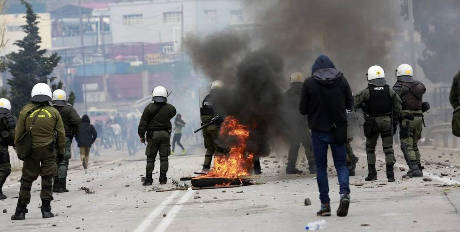 Συνιστάται Αστυνομικό Τμήμα Μόριας στην Λέσβο