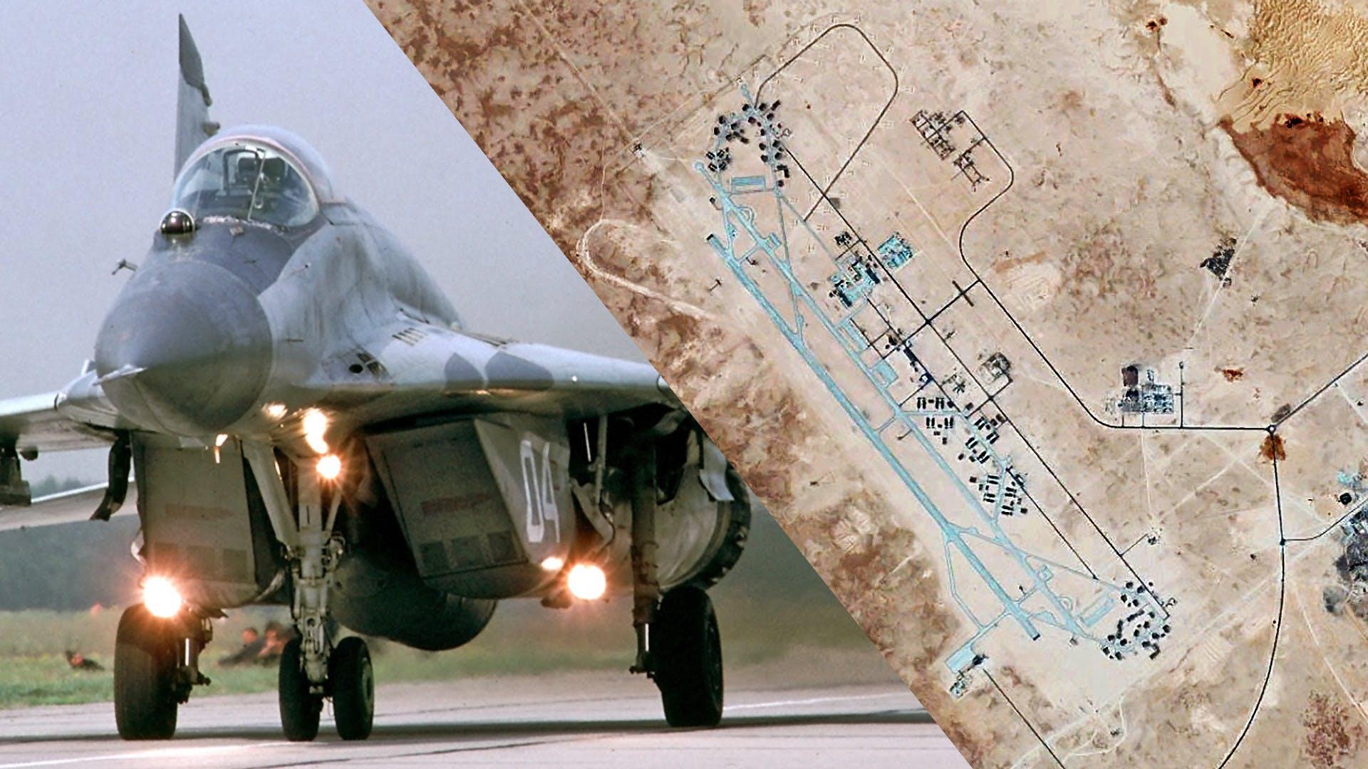 Μυστηριώδες Ρωσικό μαχητικό MiG-29, εμφανίζεται σε Λιβυκή αεροπορική βάση ελεγχόμενη από τον Χαφτάρ