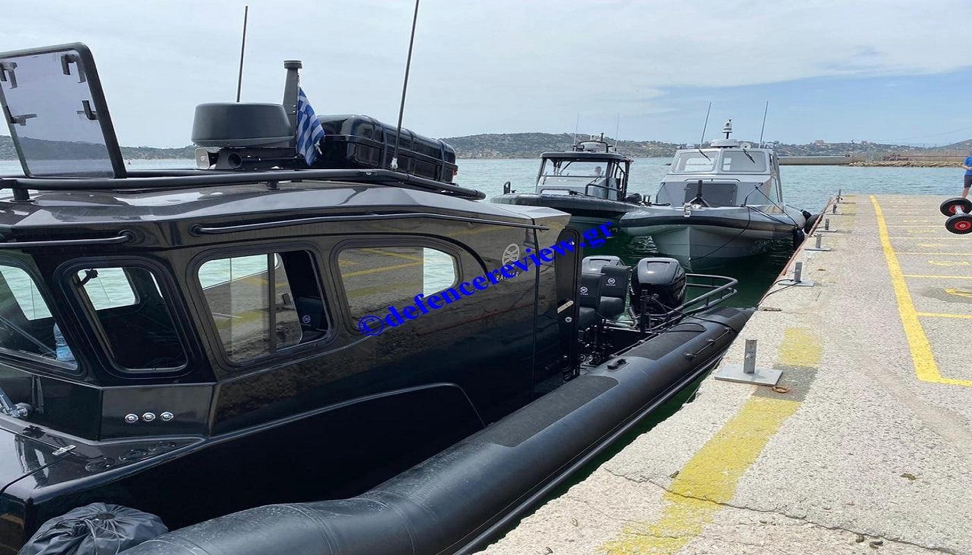 Παραδόθηκαν τα νέα σκάφη των Ειδικών Δυνάμεων: Αποκλειστικές φωτογραφίες