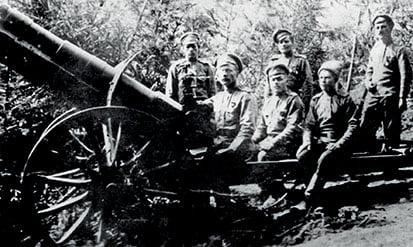 H Ελληνική συμμετοχή στην ιστορική μάχη του Σαρνταραπάτ