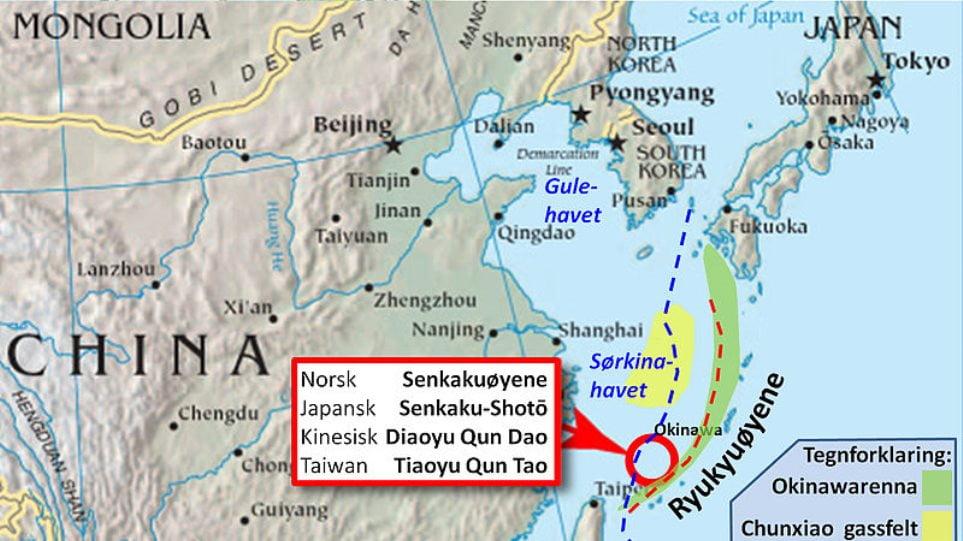 Στο επίκεντρο της διαμάχης Κίνας – Ιαπωνίας εκ νέου τα νησιά Σενκάκου
