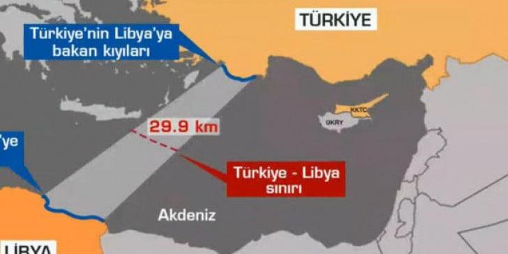 Γιατί άραγε η Τουρκία αναζητά προγεφύρωμα στη Λιβύη, νότια της νήσου Κρήτης;