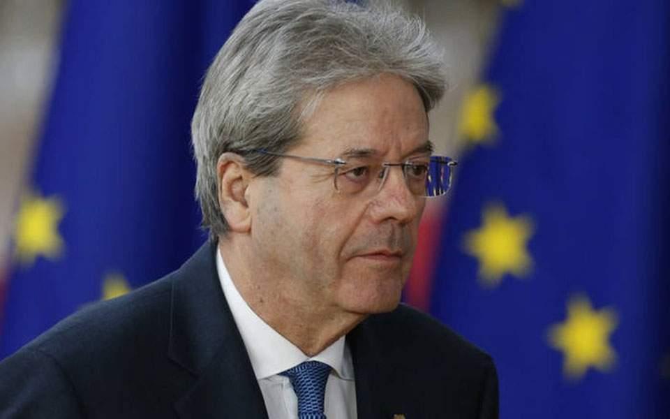 Επίτροπος Οικονομικών Π. Τζεντιλόνι: Χωρίς μνημόνιο και τρόικα το πακέτο ανάκαμψης