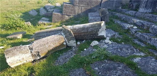 Βανδαλισμός στην αρχαία Απολλωνία: μια ακόμη αλβανική πρόκληση
