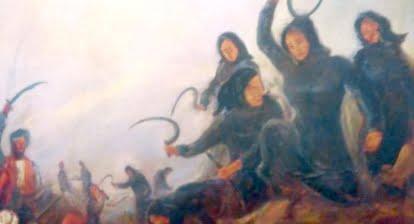 Οι Μανιάτες με τις ηρωικές Μανιάτισσες κατατροπώνουν τον Ιμπραήμ