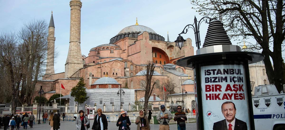 Ahmet Anapalı: Σήμερα παραγγέλθηκε χαλί για να λειτουργήσει ως τζαμί η Αγια Σοφιά