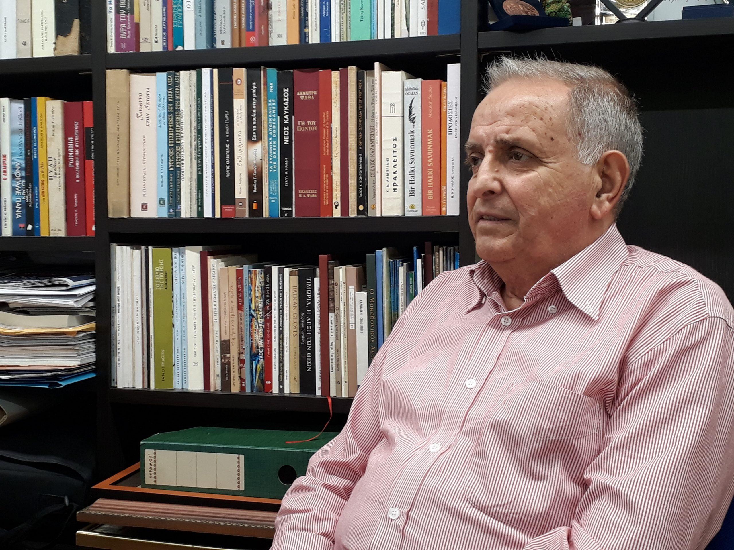 Γρηγόρης Καραμέλος, βουλευτής Κορυτσάς: Δεν θέλουμε η Αλβανία να καταντήσει προτεκτοράτο της Τουρκίας. Θέλουμε να έχει καλές σχέσεις με την Ελλάδα!