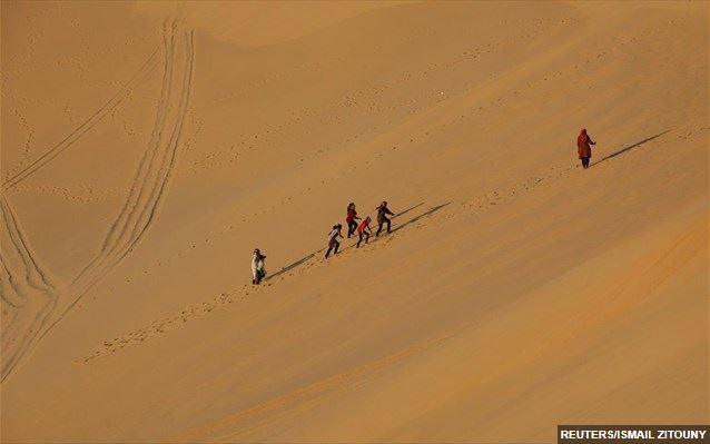 Η εγκαταλελειμμένη πόλη των αρχαίων βιβλιοθηκών στην έρημο Σαχάρα