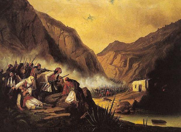 1822: Η νίκη στα Δερβενάκια και η χαρά των Ελλήνων