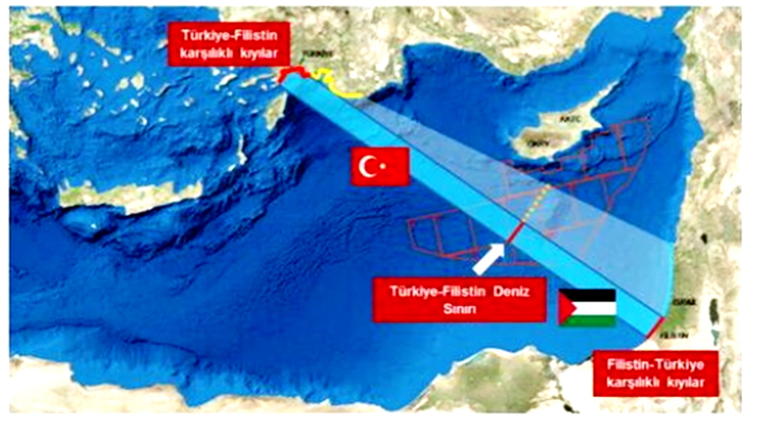 Η Τουρκία αμφισβητεί την ΑΟΖ του Ισραήλ – Οι Παλαιστίνιοι ...
