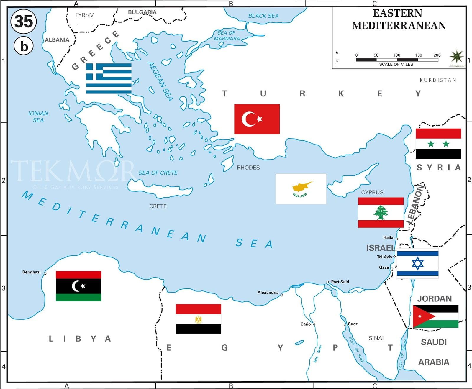 Μεσόγειος, η Θάλασσά μας – Ανατολική Μεσόγειος …… «Ώρα ΜΗΔΕΝ»