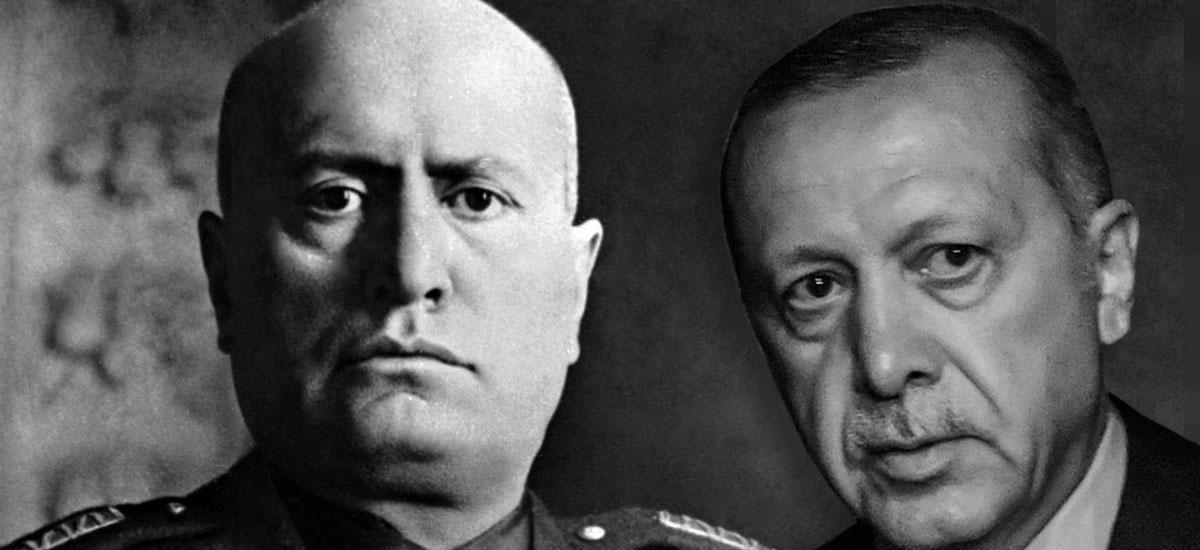 Ο Ερντογάν ως νέος Μουσολίνι, ο ταραξίας της περιοχής