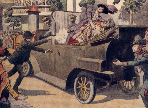 H δολοφονία που έγινε η αφορμή για να ξεκινήσει ο Α' Παγκόσμιος Πόλεμος