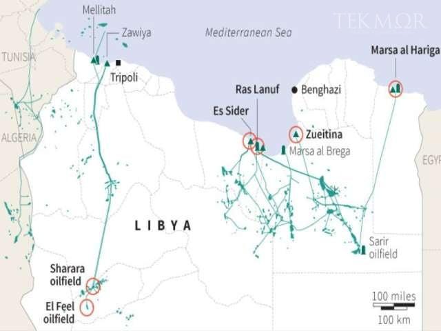 Λιβύη: Βαθαίνει η κρίση – Μισθοφόροι εχθρικοί προς την Τουρκία κατέλαβαν πετρελαιοπηγές και διυλιστήρια