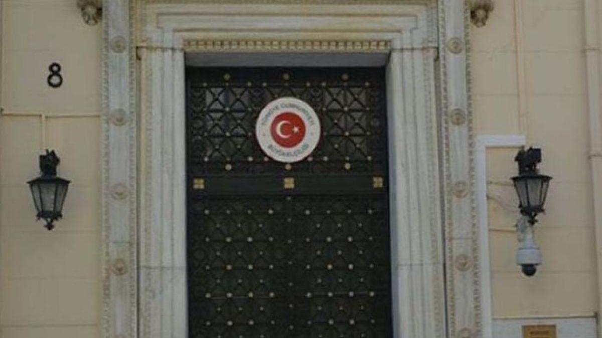 Ανάρτηση με αιχμές από την τουρκική πρεσβεία στην Αθήνα