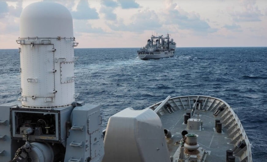 Προβολή ισχύος από το Πολεμικό Ναυτικό – Νέα άσκηση υψηλού συμβολισμού Νότια της Κρήτης – Το μήνυμα στην Τουρκία
