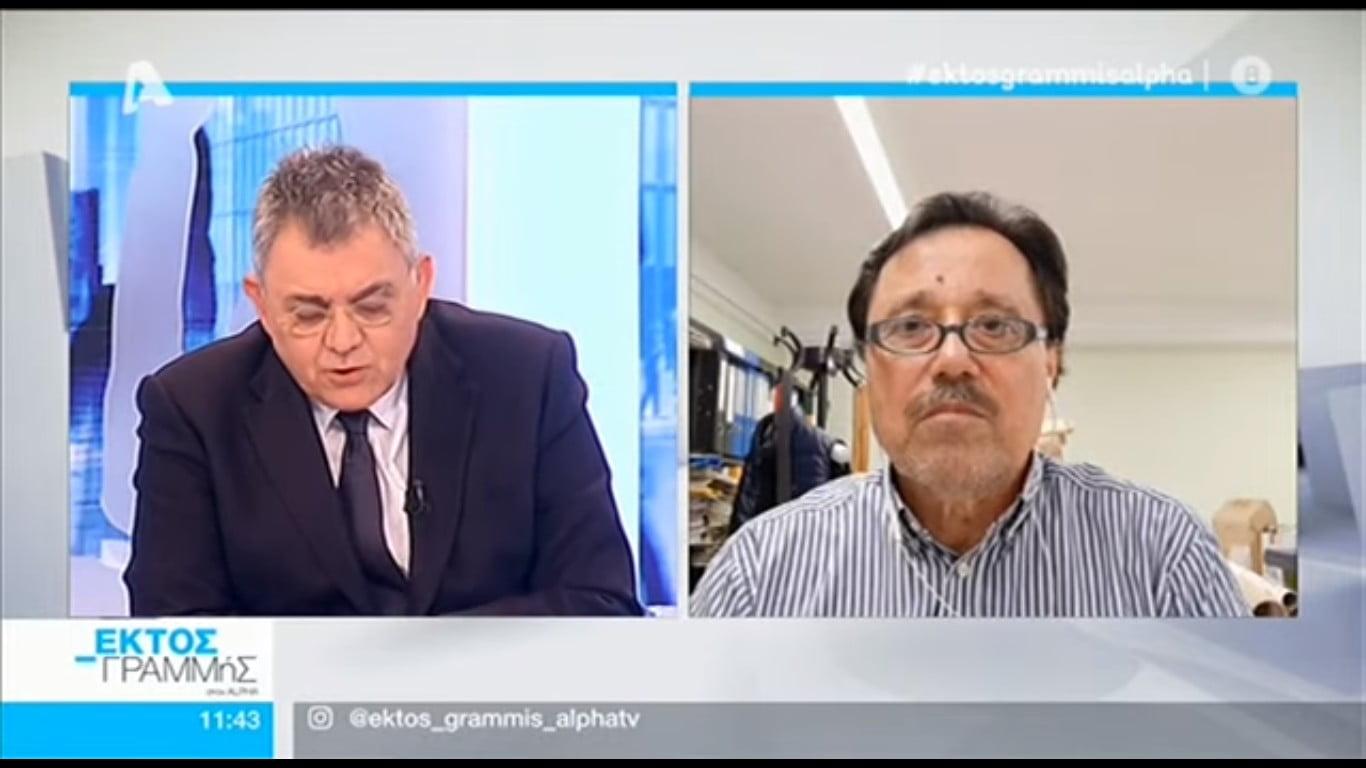 Καλεντερίδης στο Εκτός Γραμμής: Στρατηγική της Τουρκίας η ιδιοποίηση της Ανατολικής Μεσογείου