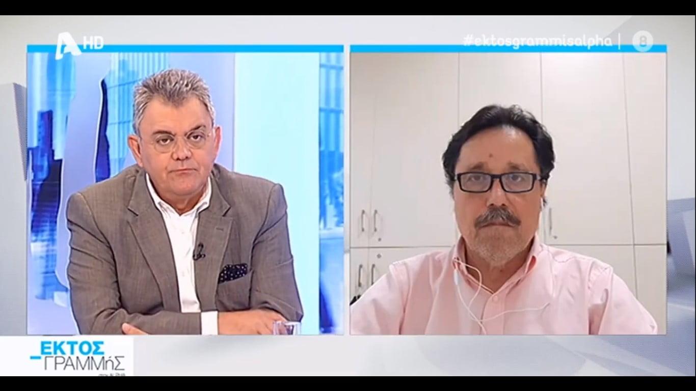 Καλεντερίδης στο «Εκτός Γραμμής»: «Αν ξεσπάσει θερμό επεισόδιο με την Τουρκία θα υπάρξει γενικευμένος πόλεμος» (ΒΙΝΤΕΟ)
