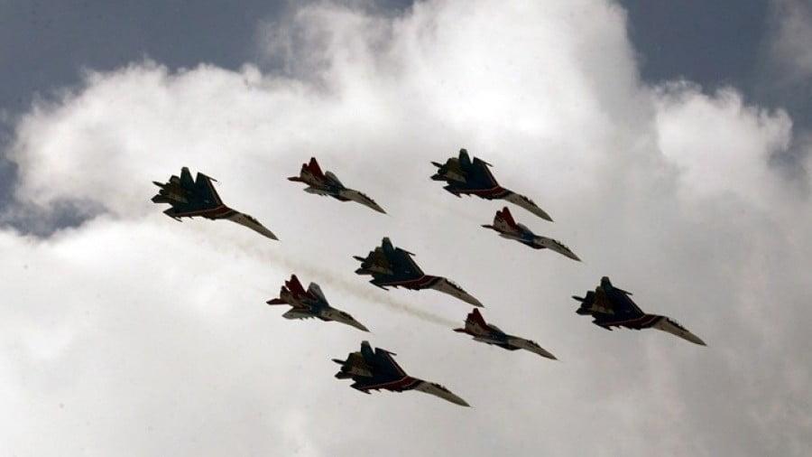 Επιδρομές της ρωσικής Πολεμικής Αεροπορίας στο Ιντλίμπ