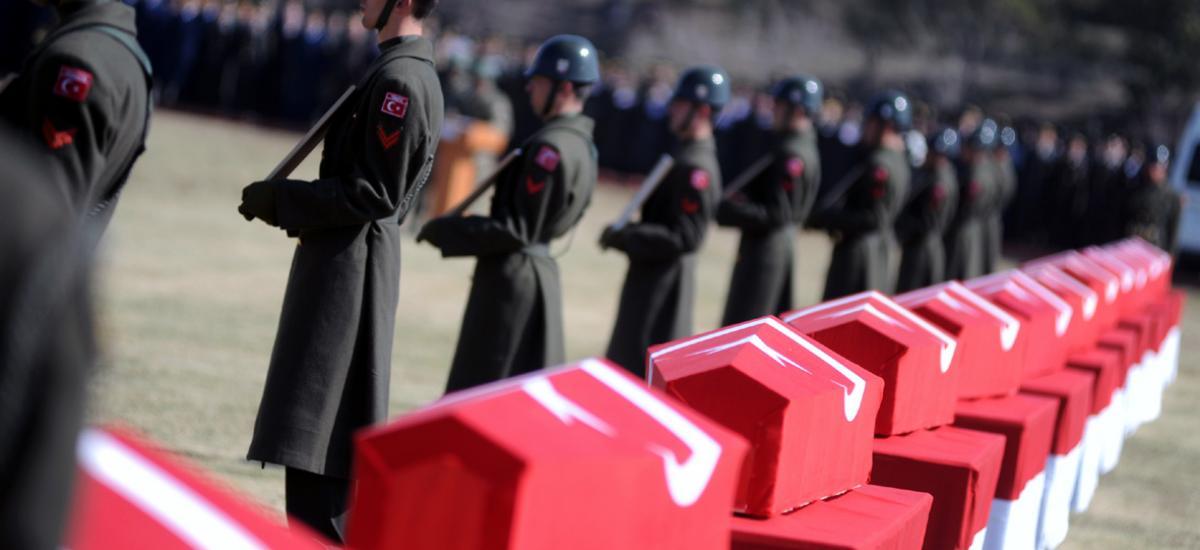 Δύο Τούρκοι στρατιωτικοί νεκροί σε συγκρούσεις με Κούρδους αντάρτες