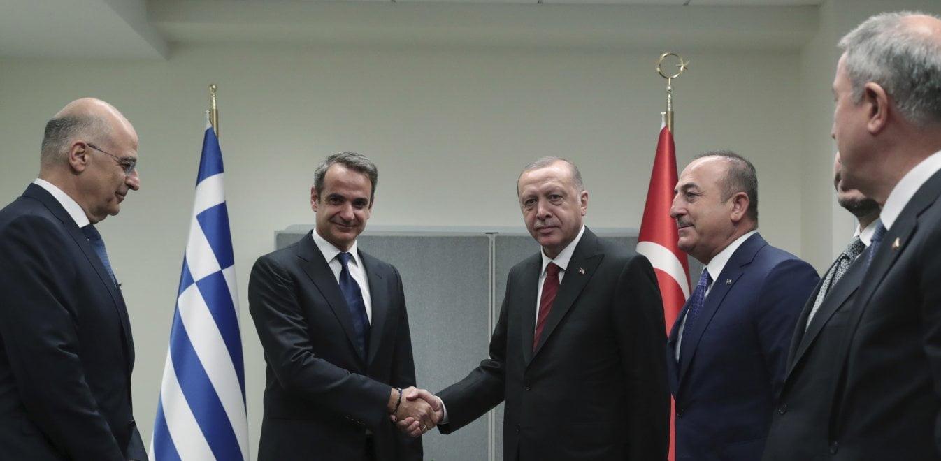 Ολο το παρασκήνιο για τη συνομιλία Μητσοτάκη με Ερντογάν – Πώς «κλείστηκε» το ραντεβού