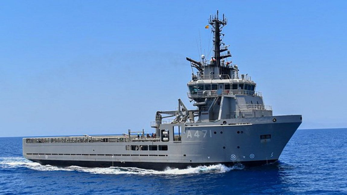 H παρθενική εμφάνιση του «ΑΤΛΑΣ 1» σε άσκηση του Πολεμικού Ναυτικού και το σχέδιο για τη Μεσόγειο