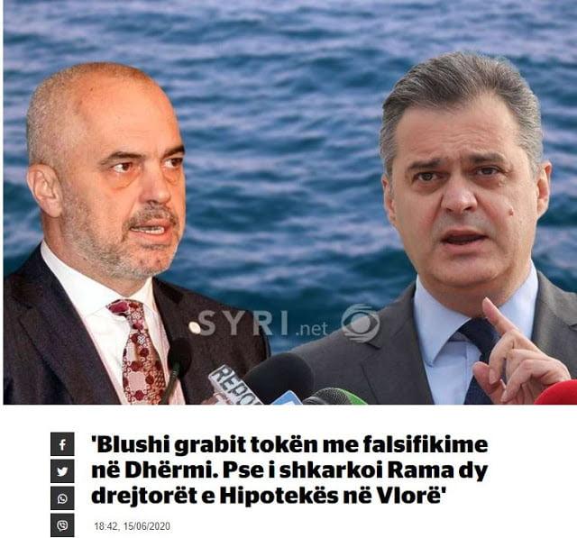 Ἀλβανία: Συνεχίζονται οἱ καταγγελίες γιὰ ἁρπαγὴ γῆς Ελλήνων στοὺς Δρυμάδες